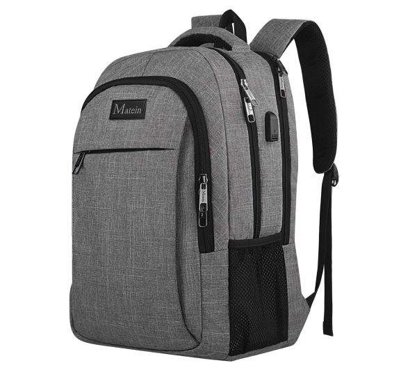 4. Travel Laptop Backpack,Business Anti Theft Slim Durable Laptops Backpack with USB