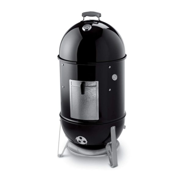 4. Weber 721001 Smokey Mountain Cooker 18-Inch Charcoal Smoker, Black
