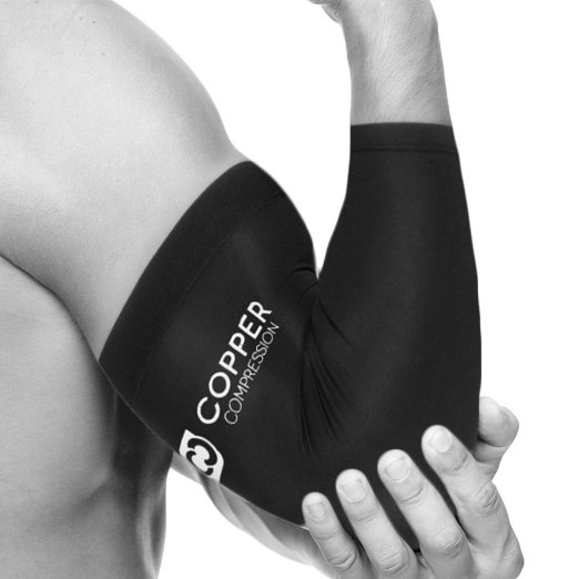 5. Copper Compression Recovery Elbow Sleeve - Highest Copper Content Elbow Brace
