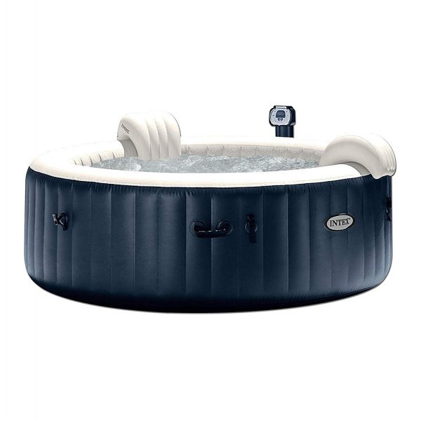 5. Intex Pure Spa 6-Person Inflatable Portable Heated Bubble Hot Tub