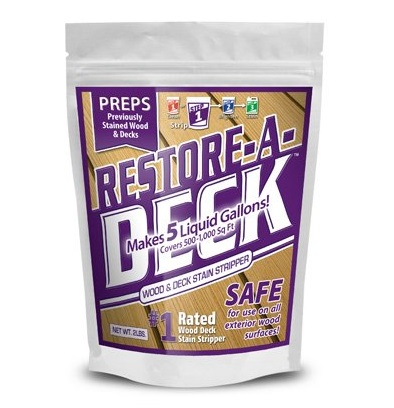 7. ​Restore-A-Deck Wood Stain Stripper