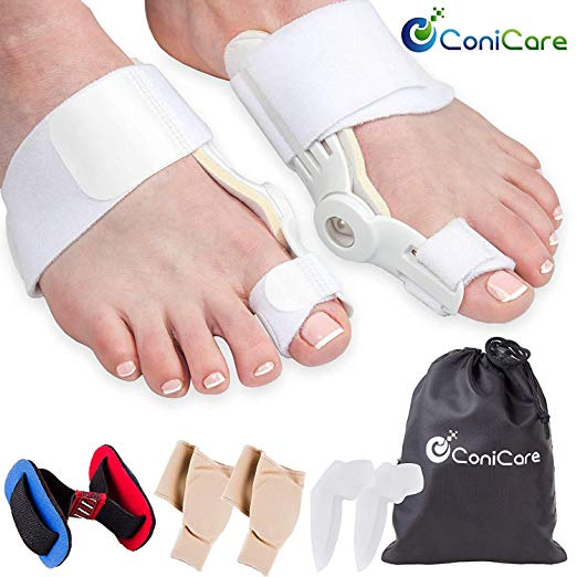 7. Orthopedic Bunion Corrector Relief And Protector Splint Sleeve 8 Piece Kit