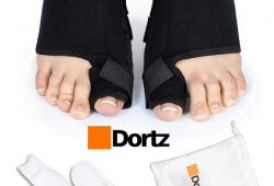 8. Dortz Orthopedic Bunion Corrector - Bunion Splint for Bunion Relief - Bunion Protector - Bunion Pads Bunion Bootie - Bunion Corrector for Women and Men