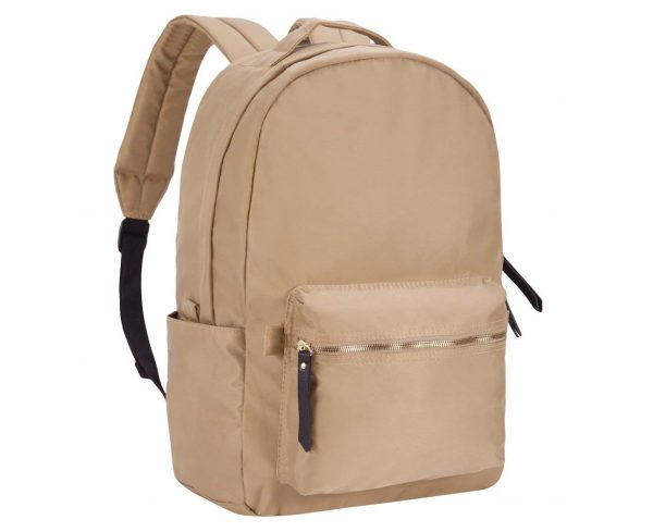 9. HawLander Laptop Backpack for Women - Lightweight,Small Size,Khaki