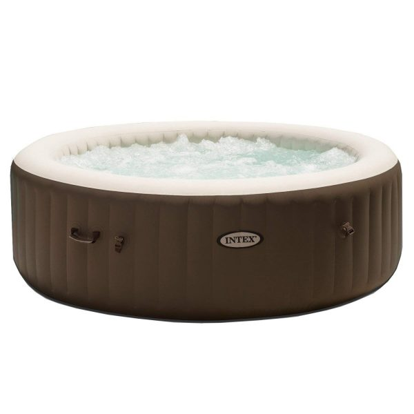 9. Intex PureSpa 6-Person Portable Inflatable Bubble Jet Hot Tub