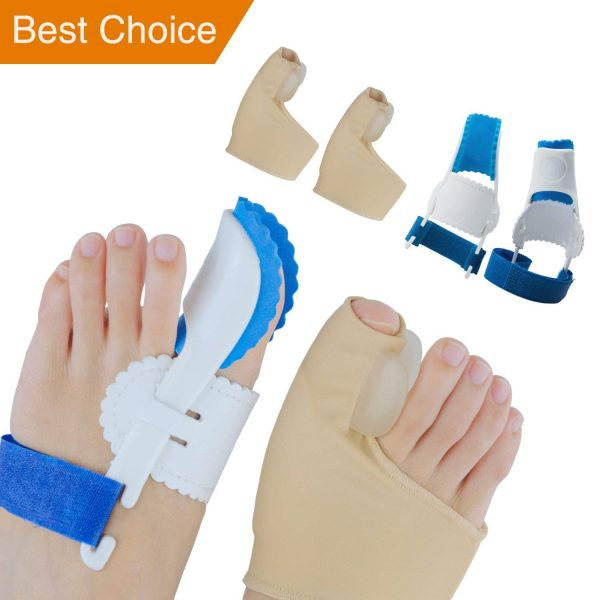 9. Sumifun Bunion Corrector, Adjustable Velcro Bunion Night Splint