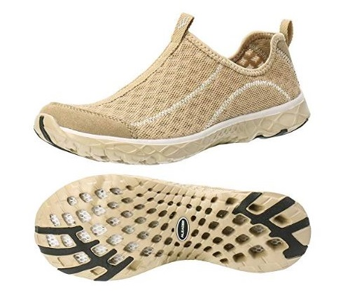 1. ALEADER Women's Mesh Slip on Water Shoes