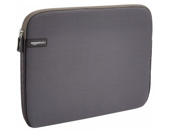 1. AmazonBasics 13.3-Inch Laptop Sleeve - Grey