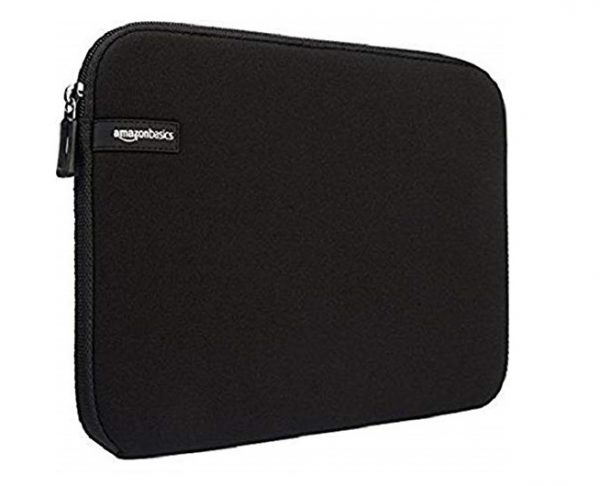 1. AmazonBasics 15.6-Inch Laptop Sleeve - Black