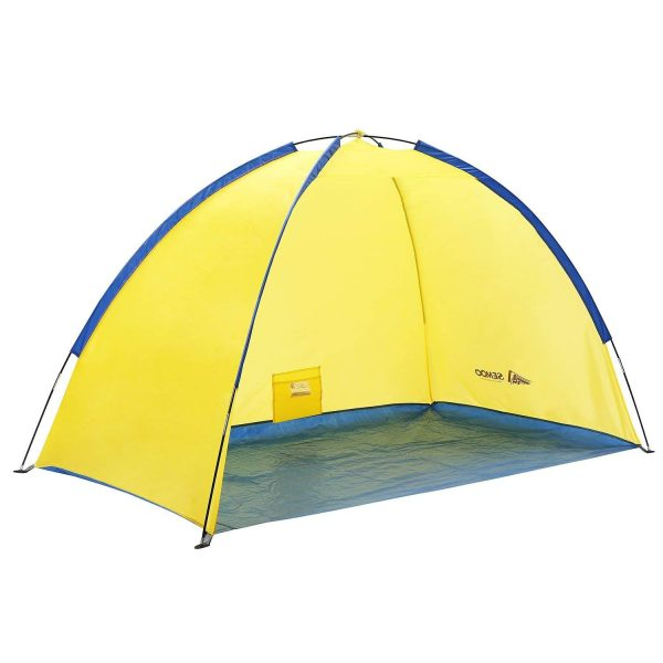 10. SEMOO Lightweight Beach Shade Tent Sun Shelter with Carry Bag
