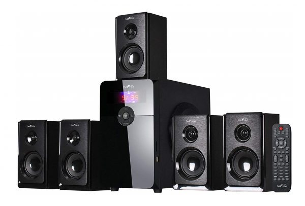 10. beFree Sound BFS-450 5.1 Channel Surround Bluetooth Speaker System - Black