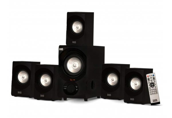 2. Acoustic Audio AA5171 5.1 Surround Sound Bluetooth Home Entertainment System