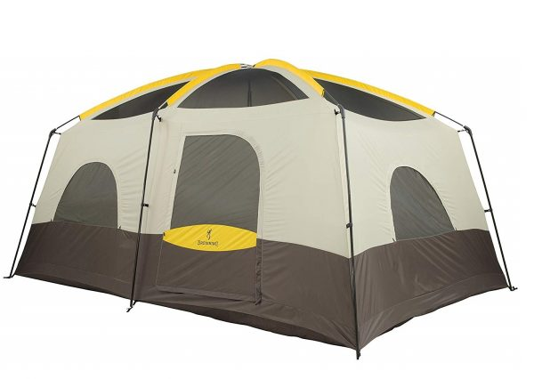 3. Browning Camping Big Horn Two-Room Tent