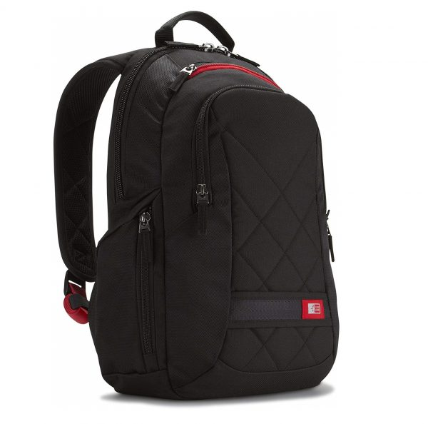 3. Case Logic DLBP-114 14-Inch Laptop Backpack Bag - Black