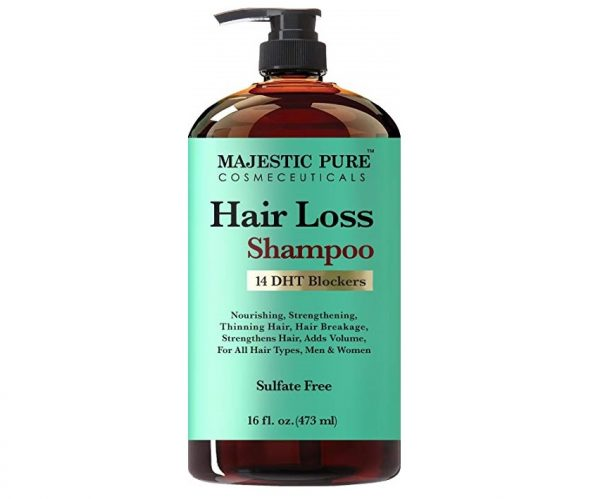 3. Majestic Pure Hair Loss Shampoo, Offers Natural Ingredient Based Effective Solution