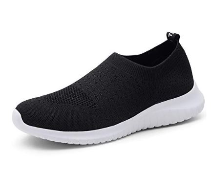 3. TIOSEBON Women's Athletic Walking Shoes Casual Mesh-Comfortable Work Sneakers