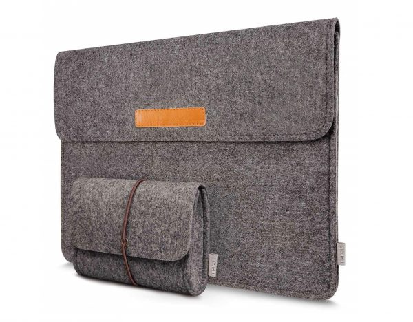 3. iPad Pro Sleeve Case Cover Ultrabook Netbook Carrying Case Protector Bag, Dark Gray