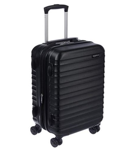 4. AmazonBasics Hardside Spinner Luggage - 20-Inch, Carry-On