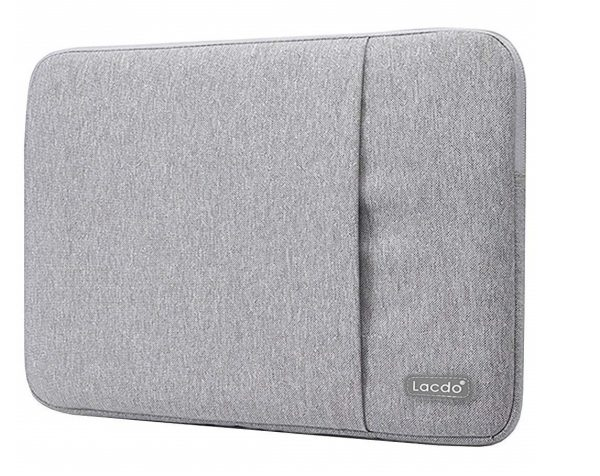4. Lacdo 13 Inch Waterproof Fabric Laptop Sleeve Case for Apple Macbook Air