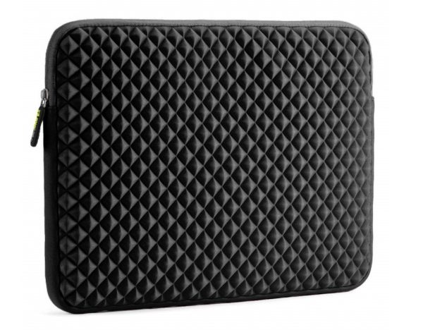 4. Laptop Sleeve, Evecase 15~15.6 inch Diamond Foam Splash & Shock Resistant Neoprene Universal Sleeve Zipper Case Bag