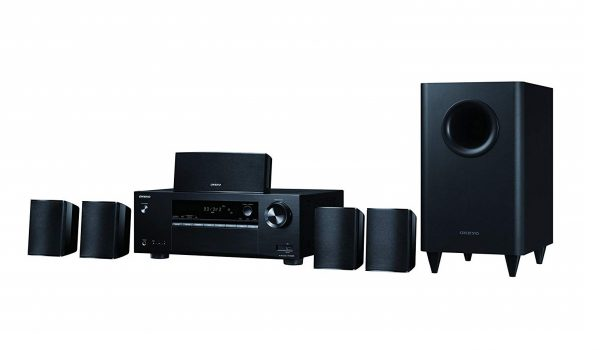 4. Onkyo HT-S3800 5.1 Channel Home Theater Package