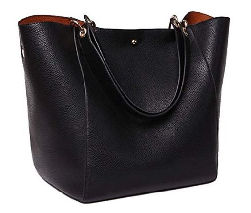 4. SQLP Fashion Women's Leather Handbags ladies Waterproof Shoulder Bag Tote Bags