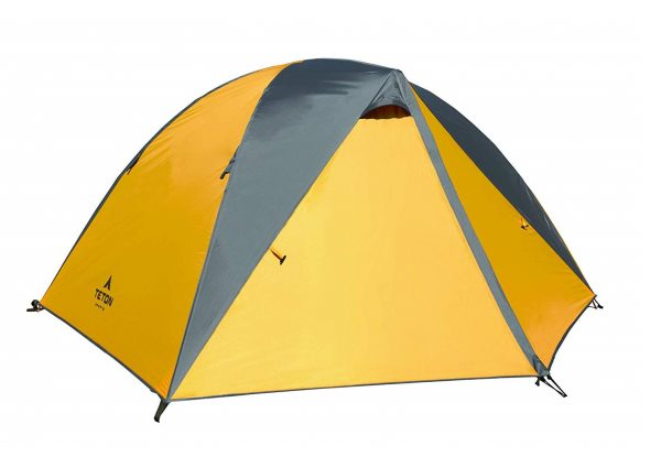4. TETON Sports Mountain Ultra Tent; Person Backpacking Dome Tent Includes Footprint and Rainfly
