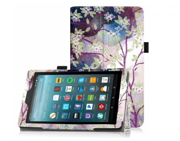 5. Famavala Folio Case Cover for 7-Inch Fire 7 Tablet