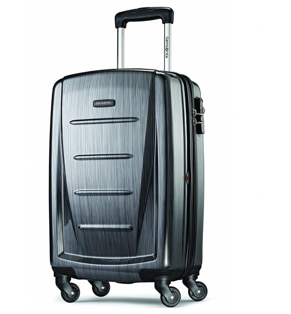 5. Samsonite Winfield 2 Hardside 20 Luggage, Charcoal