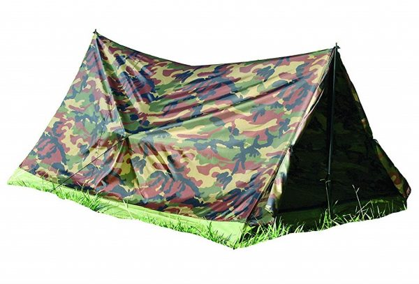 5. Texsport 2 Person Camouflage Trail Tent
