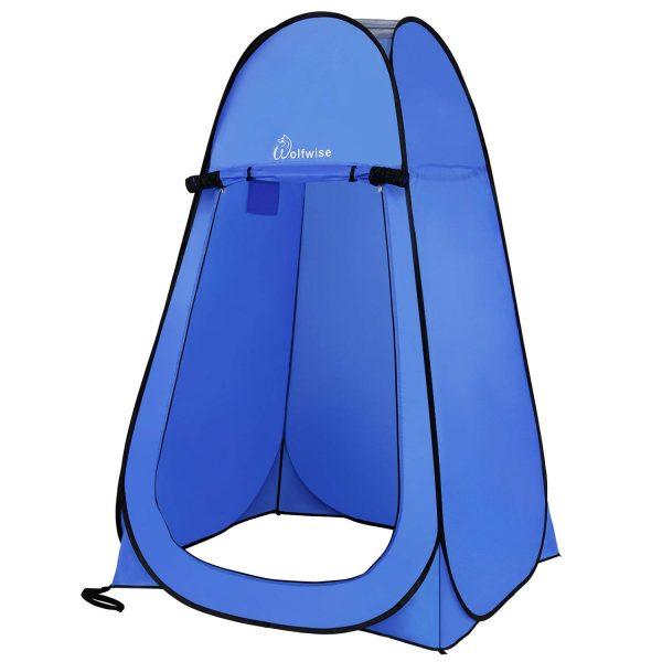 5. WolfWise Pop-up Shower Tent
