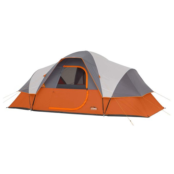 6. CORE 9 Person Extended Dome Tent - 16' x 9'