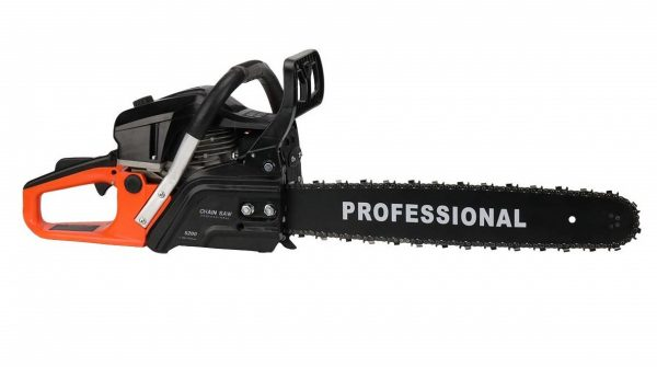 6. LZ Chainsaw LCS1020 20V 20IN Bar 52CC 3.5HP Gas Powered Chainsaw Handed Petrol 2-Cycle Chain Saw (Orange)