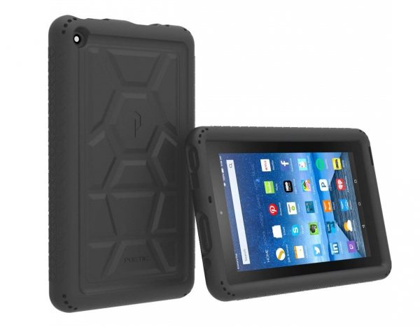 6. Poetic TurtleSkin Fire 7 2015 Rugged Case Cover with Heavy Duty Protection Silicone