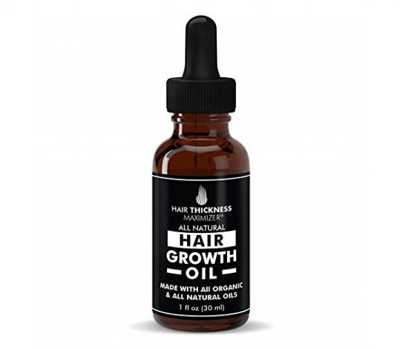8. BEST Organic Hair Growth Oils GUARANTEED. Stop Hair Loss NOW by Hair Thickness Maximizer