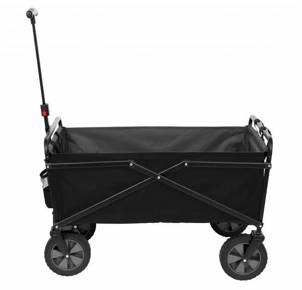 8. Seina Heavy Duty Compact Folding 225 Pound Capacity Outdoor Cart