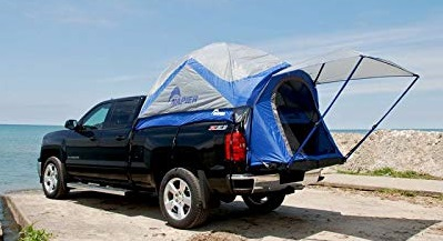 8. Sportz Truck Tent III with Mid Size Quad Cab Trucks (for Toyota Tacoma Model)