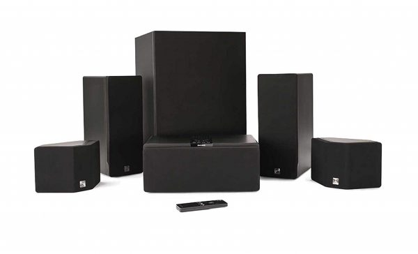 9. Enclave Audio CineHome HD 5.1 Wireless Audio Home Theater System