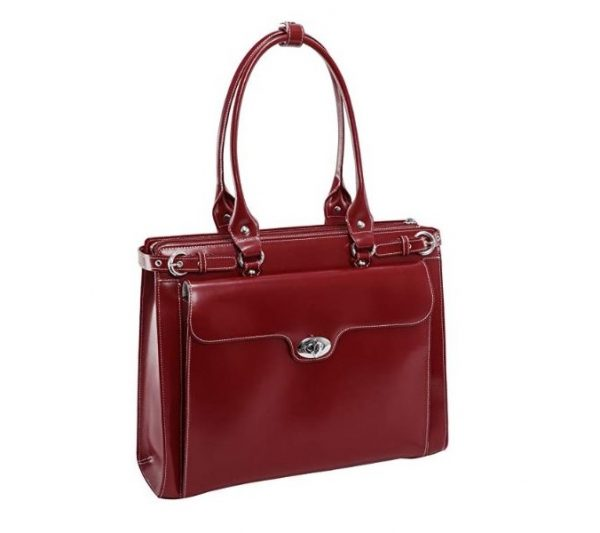 9. McKlein W Series Winnetka Women's Italian Leather Briefcase
