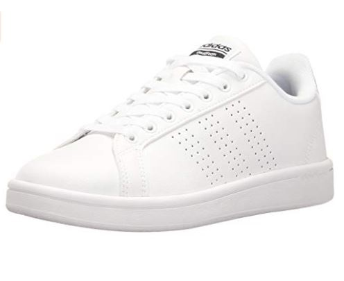 9. adidas Women's Cloudfoam Advantage Clean Fashion Sneaker