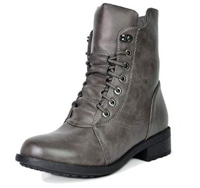 10. DREAM PAIRS Women's Mid Calf Military Combat Boots