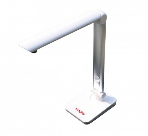 10. Longjoy Digital Portable Overhead USB Document Camera LV-1 Series LV-1010 (White)
