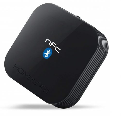2. HomeSpot NFC-Enabled Bluetooth Audio Receiver for Sound System