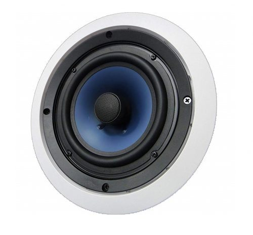 3. 652C Silver Ticket Ceiling Speaker with Pivoting Tweeter (6.5 Inch in-ceiling)