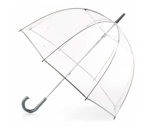 3. totes Women's Clear Bubble Umbrella
