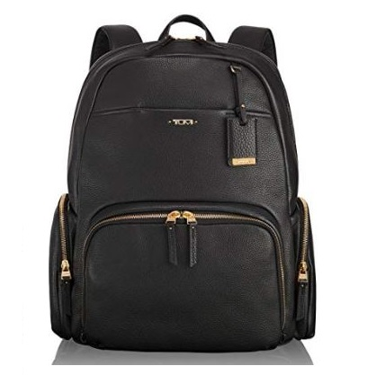 5. Tumi Womens Voyageur Leather Carson - Calais Backpack