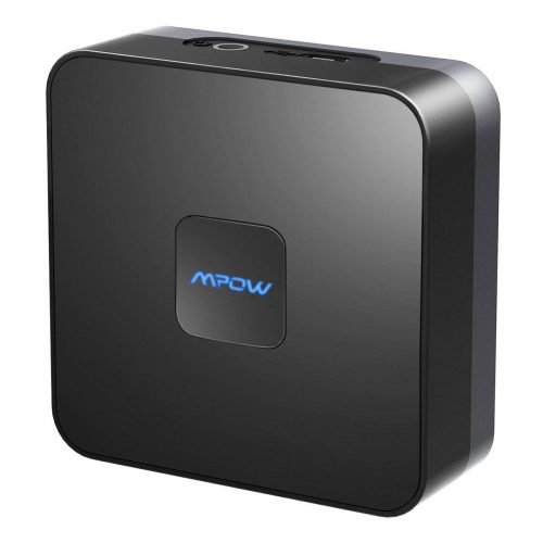6. Mpow Bluetooth Receiver for Home Music Streaming System, Wireless Audio Adapter,Bluetooth 4.1 Music Adapter