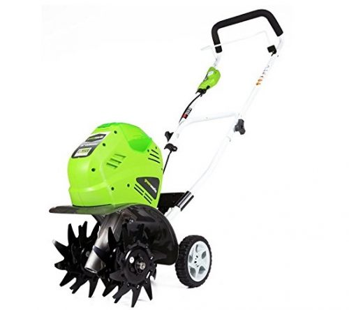 7. Greenworks 10-Inch 40V Cordless Cultivator, Battery Not Included 27062A