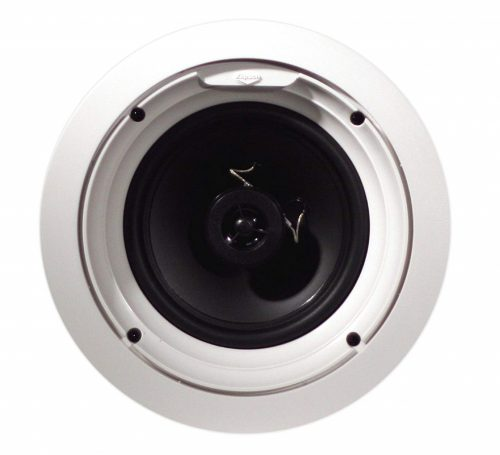 8. Klipsch R 1650C In Ceiling Speaker, White (Each)