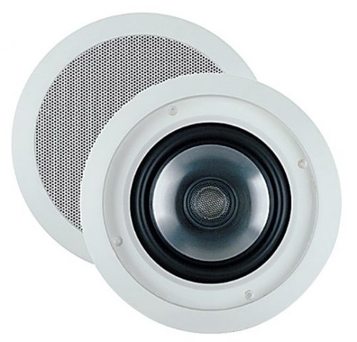 9. Ceiling Speaker with Swivel Mount Tweeter (Pair)